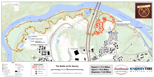 2018 battle at the quarry map]